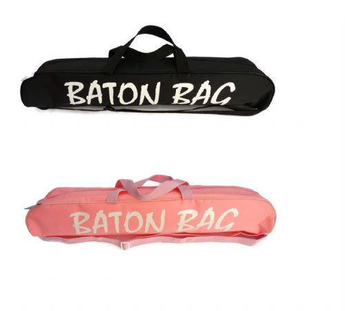 "Tappers and Pointers Baton Bag for Twirlers Majorettes Black or Pink 24"" or 32"""